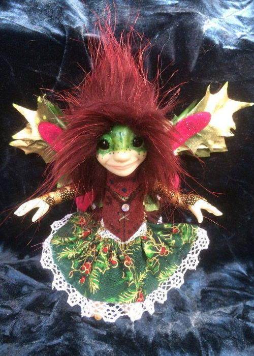 Yulah the Yule fae! - Exclusive 'FAE' Fayble by Armorel Hamilton