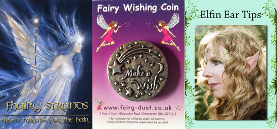Fhariy Hair Strands, Wishing Coins & Pixie Ears
