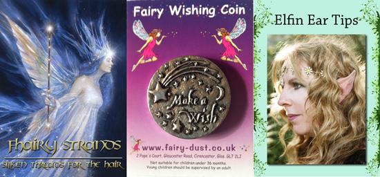 Fhariy Hair Strands, Wishing Coins & Pixie Ears