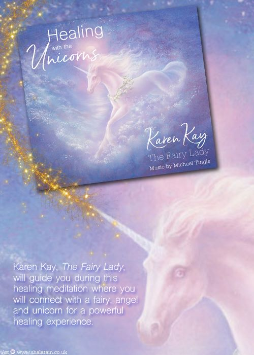 Healing With The Unicorns by Karen Kay CD | The FAE Shop